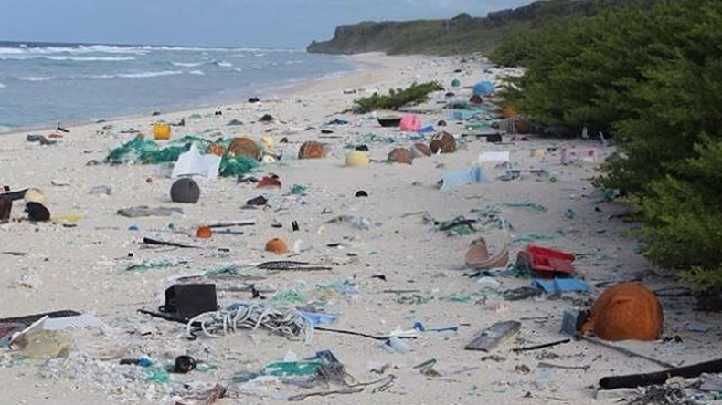 37mn pieces of plastic have washed up on uninhabited Pacific island