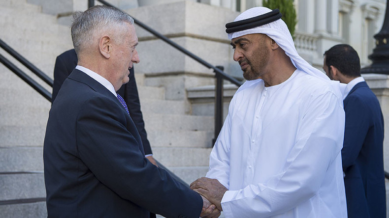 Pentagon signs new defense deal with UAE over US troop presense