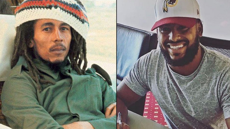 Bob Marley's grandson signs NFL contract with Washington Redskins