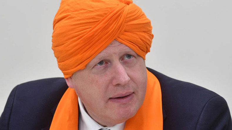 Boris Johnson insults Sikh community by talking about alcohol in temple