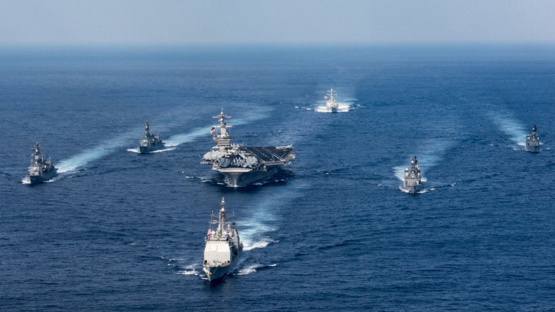 Drones, lasers & more ships: Top US admiral dreams of bigger, better navy