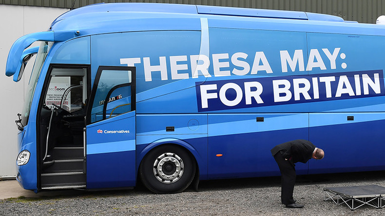 Tory manifesto targets immigrants, free school lunches & elderly home care