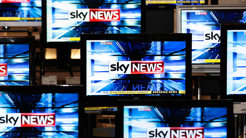 Sky News in a huff because Tories won't give broadcaster access to PM Theresa May