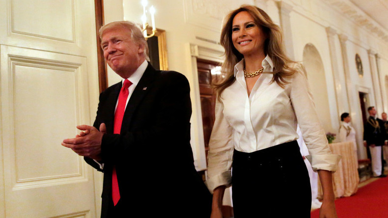 Saudi Arabia 'welcomes' any attire for Trump's wife Melania during US President's 1st foreign trip