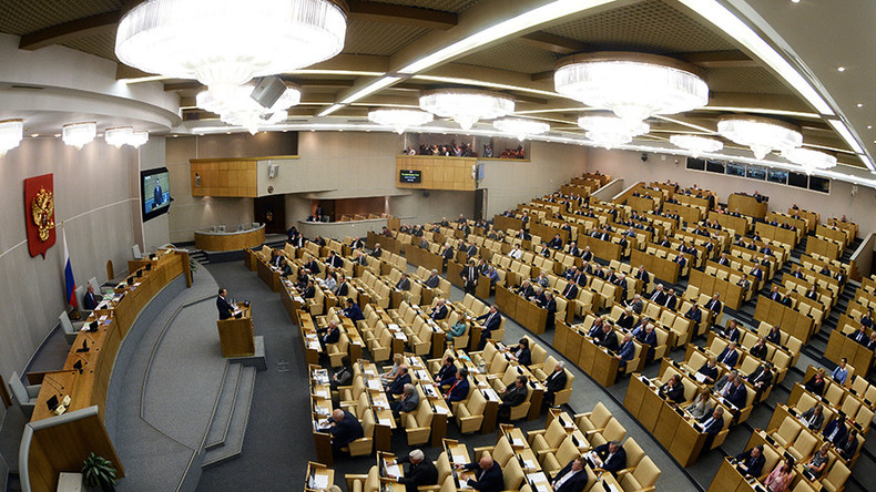 State Duma blasts foreign media for interfering in Russian elections