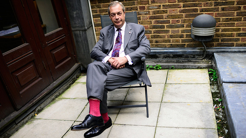 Farage flips out in train wreck interview with Germany's Die Zeit