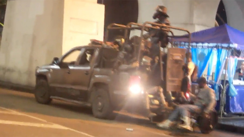 Riot police vehicle knocks over wheelchair user in Rio de Janeiro (VIDEO)