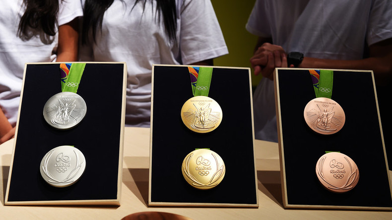 130 Rio Olympic gold medals returned due to 'rust' and 'black' blemishes