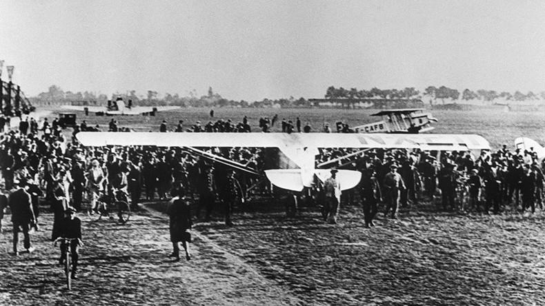 Spirit of St. Louis: Charles Lindbergh's groundbreaking flight remembered 90yrs on (VIDEO)