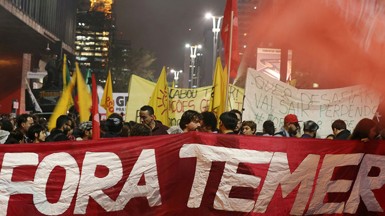 'Coup within a coup: Contest for Brazil's future continues'