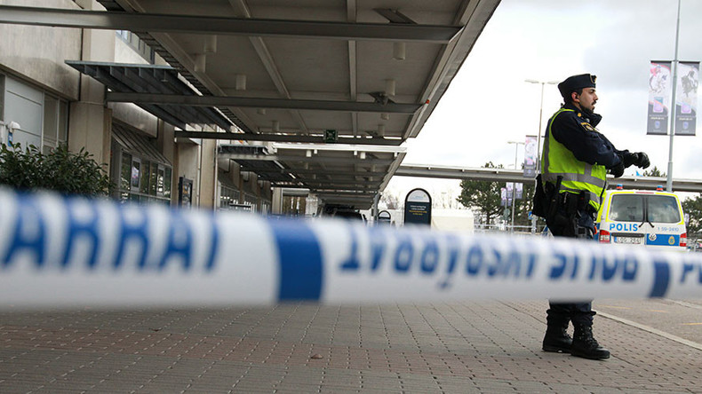 Swedish airport evacuated over bag that 'showed indications of explosives'