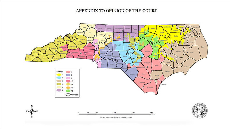 NC Republicans illegally used race during redistricting, US Supreme Court rules