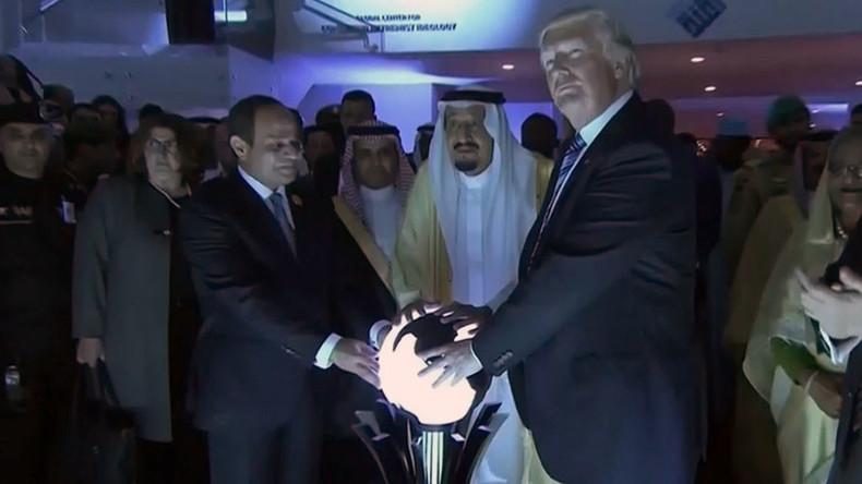 Trump's foreign trip: The most bizarre moments so far (VIDEOS)