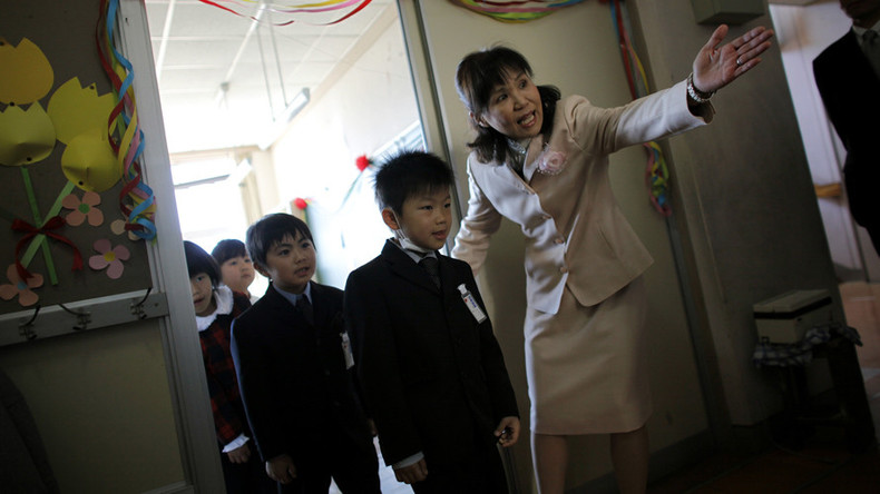Fukushima child evacuees get comedy classes to loosen up & combat trauma