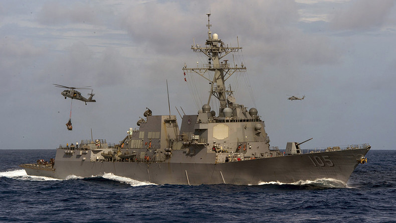 China warns 'unpermitted' US patrol to leave disputed waters in S. China Sea