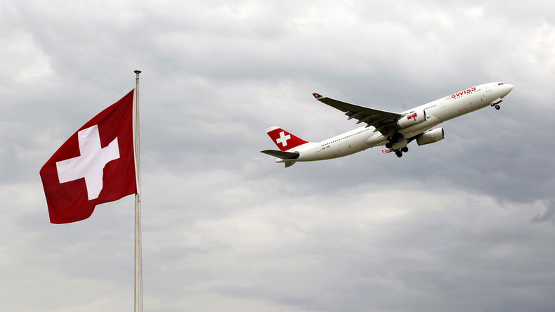 Swiss plane narrowly dodges drone collision