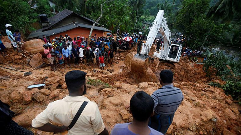 Death toll reaches 100 as Sri Lanka hit by 'worst' flooding in over a decade (VIDEO, PHOTOS)