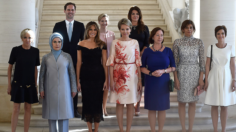 White House fails to recognize Luxembourg PM's gay spouse in official G7 photograph