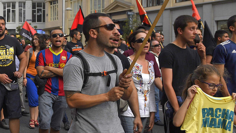 Thousands march against government austerity policies in Madrid (PHOTOS, VIDEOS)