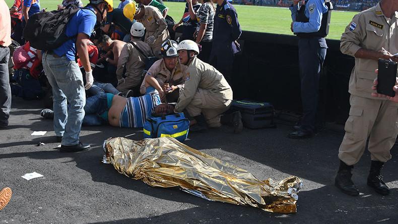 Stampede at Honduras stadium kills 5, injures dozens ahead of national football finals (GRAPHIC)