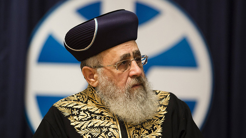 'Ignore female singers!' Chief rabbi tells Israeli soldiers to bury their faces in Torah