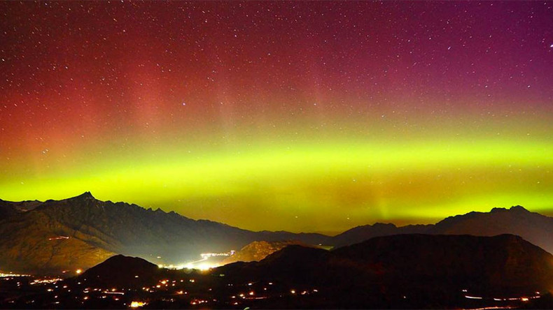 Stunning 'southern lights' illuminate night sky above New Zealand (PHOTOS, VIDEO)
