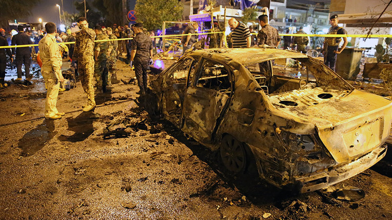31 killed in twin Baghdad car bomb attacks (VIDEOS)