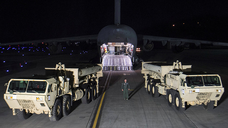 S. Korean president 'shocked' to find 4 unaccounted US THAAD launchers in his country