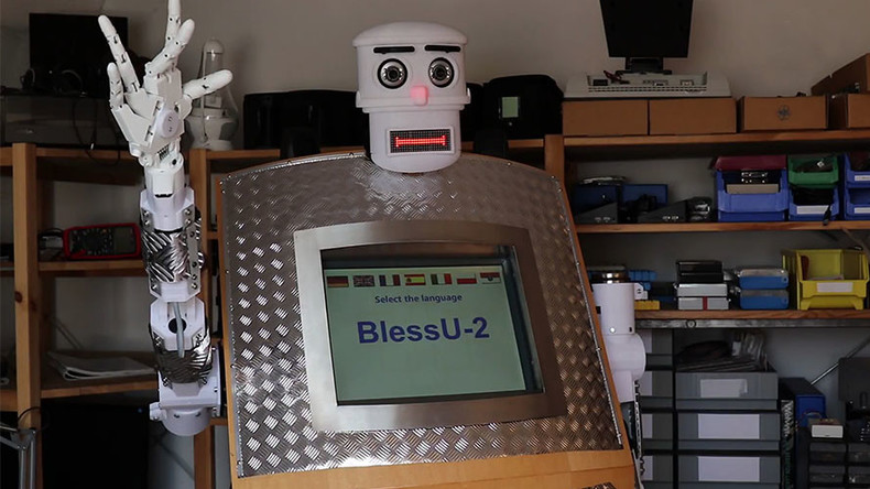 'BlessU-2': Robot priest delivers blessings to German worshipers in 5 languages (VIDEO)