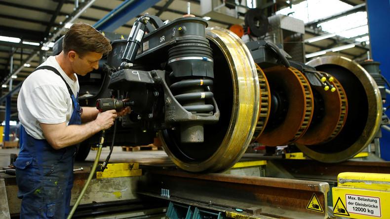 Eurozone economic confidence slips from decade high