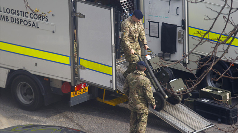 Bomb disposal unit deployed in Wigan in connection with Manchester attack investigation