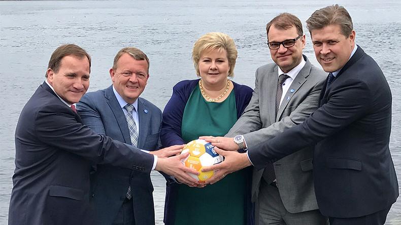Nordic Prime Ministers massively troll Trump's Saudi Arabia orb moment (PHOTO)