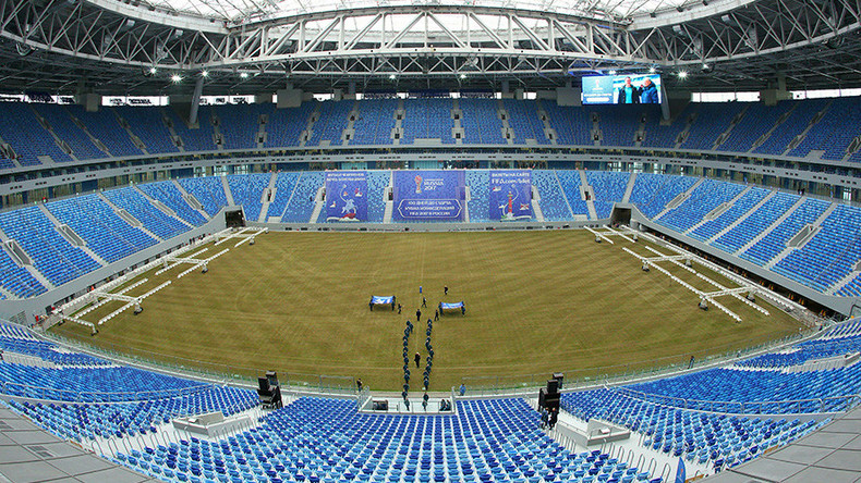 Repairs to 2018 World Cup St. Petersburg Stadium finally complete after shaky start
