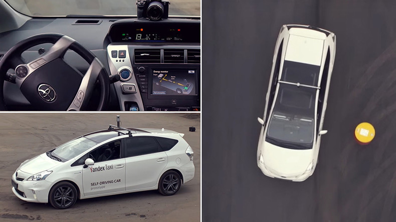Leading Russian internet company Yandex unveils self-driving taxi prototype (VIDEO)