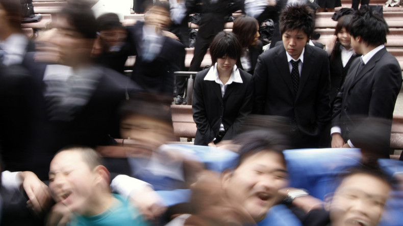 Japan's suicide rate down, but still main cause of death for 15-39 year-olds