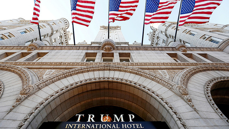 Trump Hotel guest arrested with guns & ammo in car