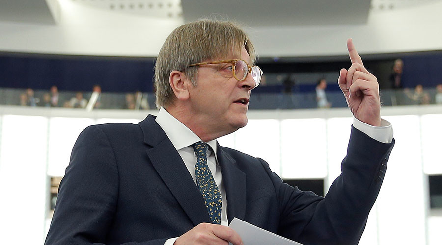 EU Brexit negotiator Verhofstadt trolls Theresa May over 'strong & stable' leadership