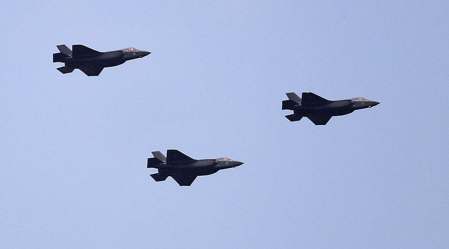 F-35 fighter jets debut at Israel's Independence Day air show (VIDEOS, PHOTO)