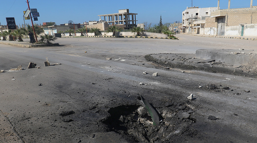 Russian MoD disputes HRW report claiming Soviet chem bomb was used in Syria's Idlib