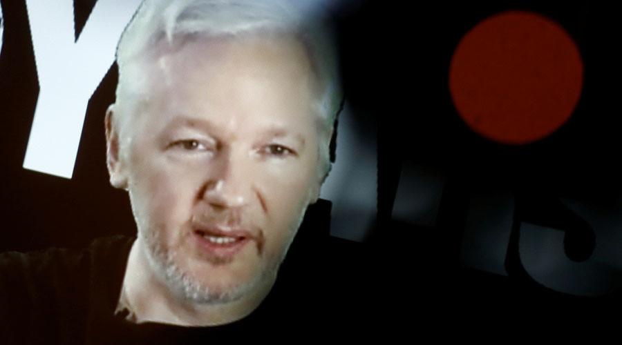 Assange brands Clinton 'butcher of Libya' & requests Sweden scrap detention order