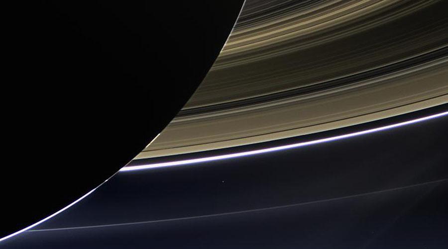 NASA's Cassini captures creepy noise between Saturn's rings (AUDIO)