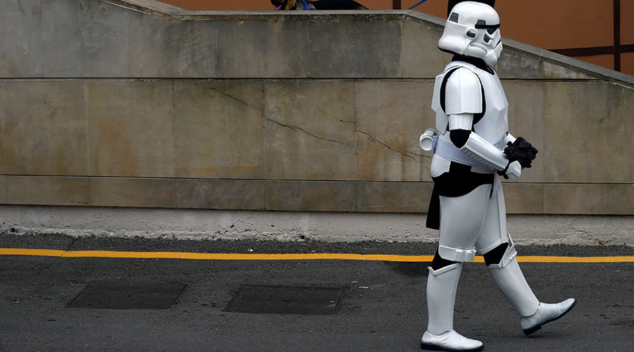 'Stormtrooper' sparks evacuation of US high school on Star Wars Day