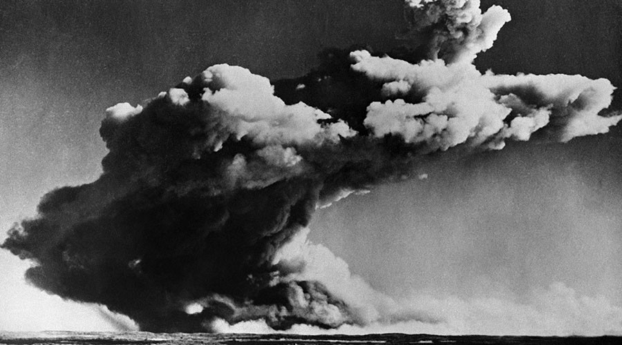 Glowing fireballs & mushroom clouds: Declassified footage shows Cold War US nuclear tests (VIDEOS)
