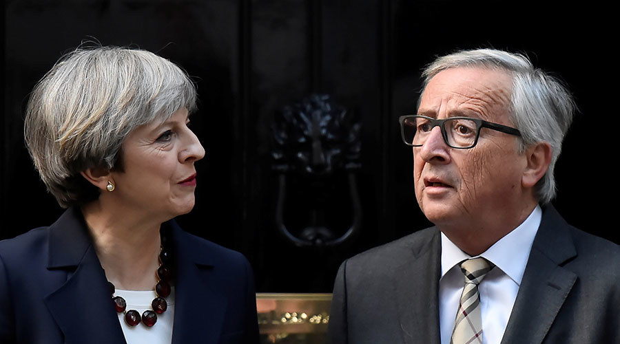 Farage calls Juncker 'bloody rude' and 'a bully' for