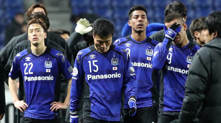 Japanese soccer team Gamba Osaka fined over fans' Nazi-like banner (PHOTOS)