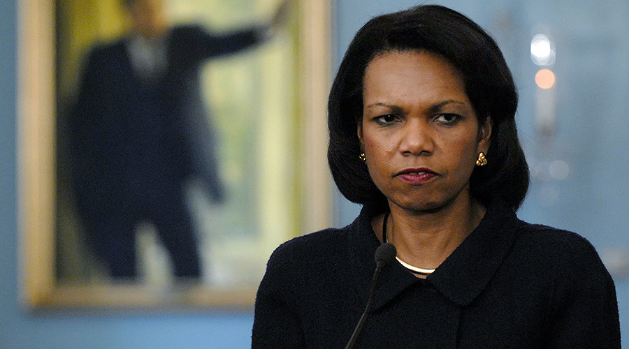 'We went to Iraq to overthrow Saddam, not bring democracy' – ex-State Secretary Condoleezza Rice