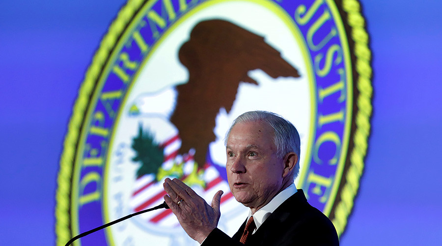 'Drug dealers are going to prison': AG Sessions tells prosecutors to seek maximum sentences