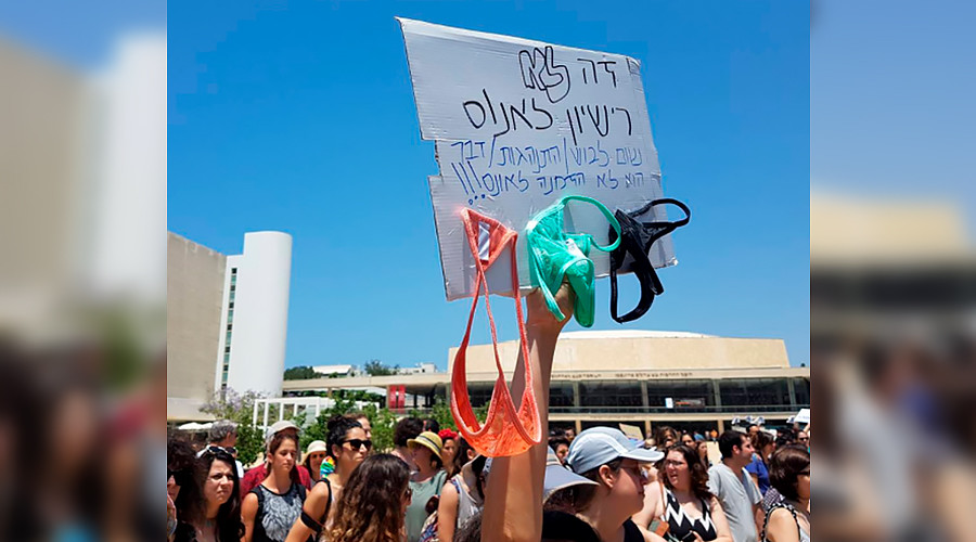 'SlutWalk' attracts up to 1,000 demonstrators in Israel (VIDEO, PHOTOS)