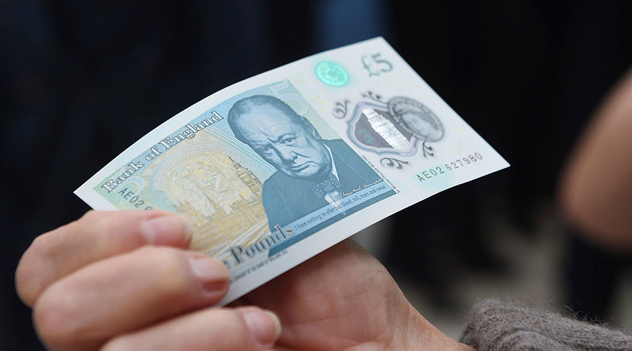 Illegal tender: British Cocaine users complain new £5 notes are hurting their noses