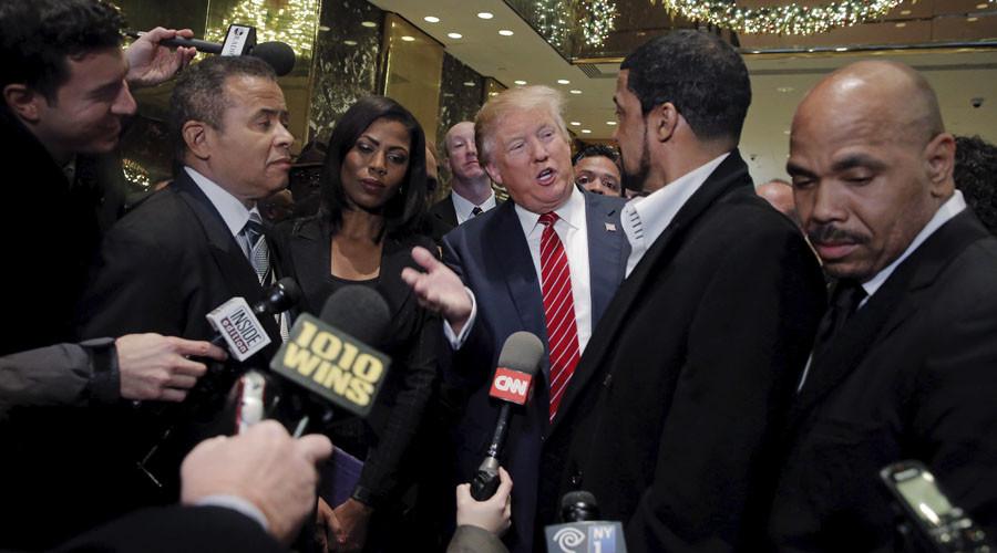 Trump facing 'shark tank' feeding frenzy from 'military industrial media'